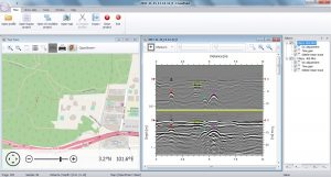 CrossPoint single profile GPR software