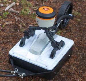 CrossOver GPR pull cart ImpulseRadar