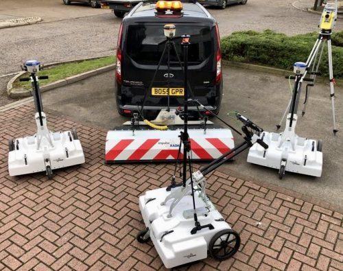 Raptor 3D GPR Array UK Line-up