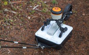 GPR antenna CrossOver pull cart