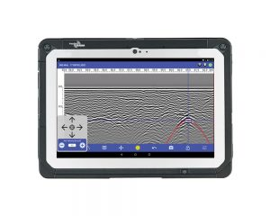 Ground penetrating radar software, android app