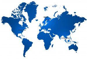 ImpulseRadar map