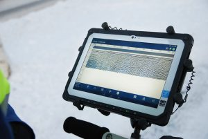 Android-driven interface for GPR