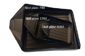 skid plate for GPR