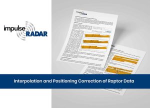 Interpolation and positioning correction of Raptor data