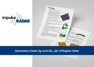 Geometry clean up and QA_QC of Raptor data